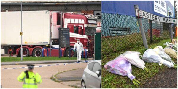 39 nạn nhân trong container ở Anh