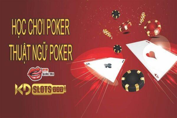 thuật ngữ chơi poker