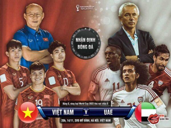 Lịch thi đấu bóng đá Việt Nam – Vòng loại World Cup 2022