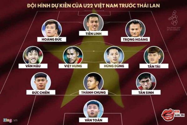 U22 Thái Lan - U22 Việt nam