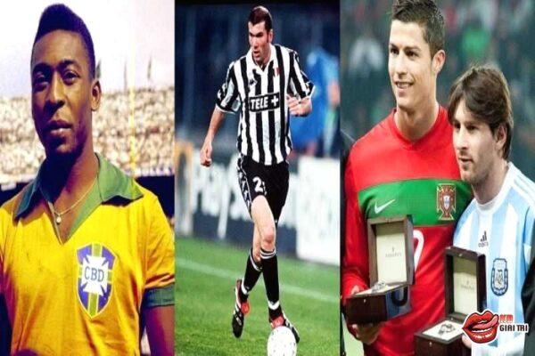 Top 10 cầu thủ xuất sắc nhất mọi thời đại