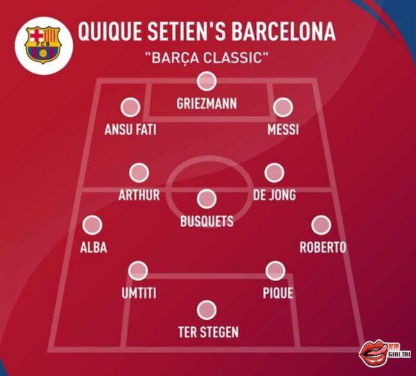 Quique Setien nâng tầm Barcelona - 3 sơ đồ chiến thuật mới lạ