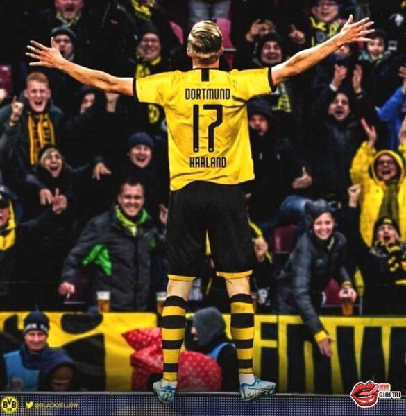Dortmund sẽ chơi sơ đồ nào với sự xuất hiện của tân binh Haaland