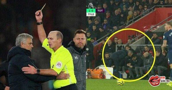Mourinho nhận lì xì đầu năm từ Mike Dean khi chơi bẩn!