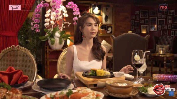 Ngọc Trinh ăn tối 20 triệu