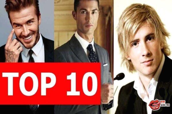 Top 10 cầu thủ đẹp trai nhất thế giới hiện nay