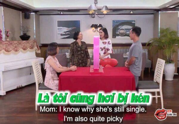 Show hẹn hò – Mẹ cô gái chê chàng trai thậm tệ