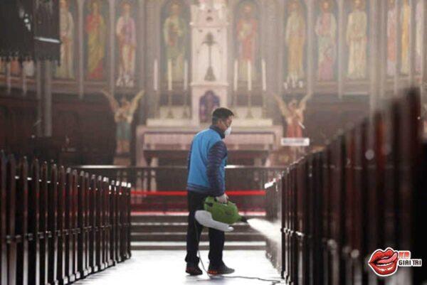 Nhà thờ ở Hàn Quốc - Ổ dịch COVID-19 lớn sau VŨ HÁN