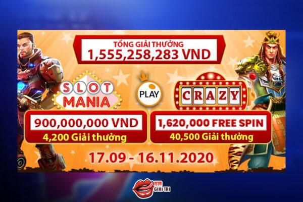 Giải Đấu Crazy Slot Mania