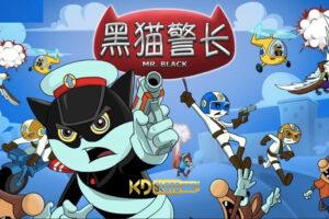Detective Black Cat game slot bắt cướp cùng mèo đen