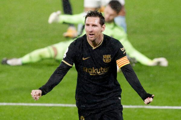 Bacar Đại Thắng Với 10 Người Dù Messi Tịt Ngòi