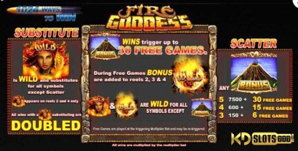 Fire Goddess game slot – Đánh thức Nữ Thần Lửa