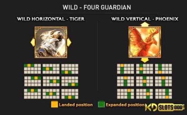 Game slot Four Guardians – Chiến đấu cùng 4 thần thú