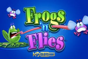 Frogs 'N Flies - Cùng chú ếch xanh săn ruồi tại KDSlots
