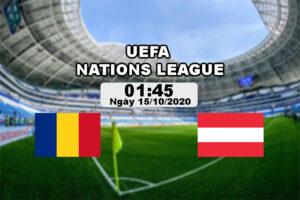 Nhận định bóng đá Romania vs Áo 1h45 ngày 15/10 (UEFA Nations League 2020/21)