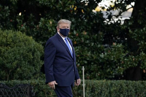 Tổng Thống Donald Trump Dương Tính Với Covid-19