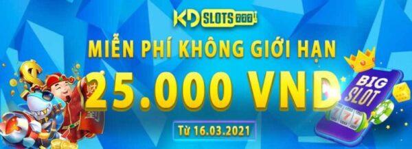 Khuyến mãi 25k cho tân thủ đến với Casino KDSlots