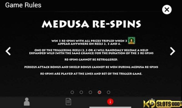 Game slot Medusa's Curse – Lời nguyền hoá giải tại KDSlots