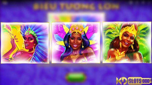 Lucky Carnival – Nữ vũ công nhảy điệu Samba tại KDSlots