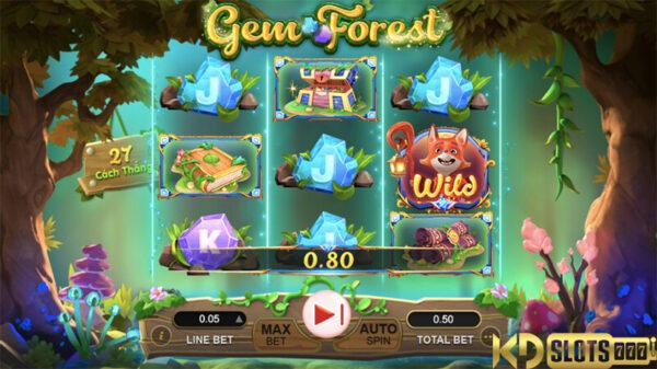 Gem Forest game slot cùng phiêu lưu vào khu rừng ngọc quý
