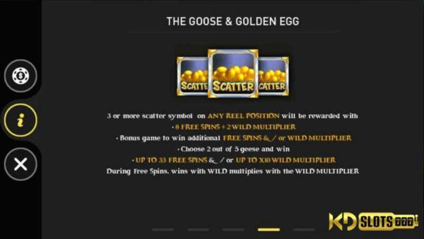 Golden Eggs game slot gà mái rụng trứng vàng!