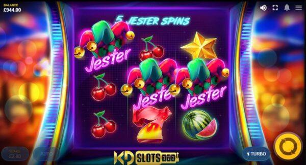 Jester Spins game slot – Chú hề vui nhộn tại KDSlots