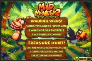 Rinh quà, đổi thưởng cùng game slots Mad Monkey 2