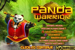 Slot Panda Warrior tuyệt đỉnh kungfu Gấu trúc