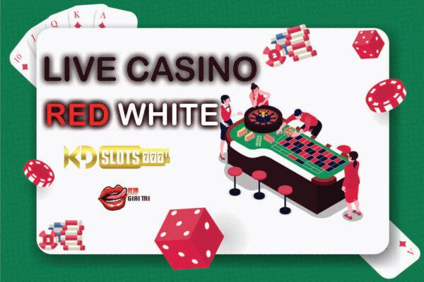 Hướng dẫn cách chơi game Red White tại casino trực tuyến