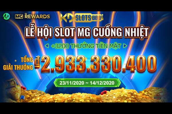 Lễ hội Slot Microgaming cuồng nhiệt chỉ có tại KDSlots