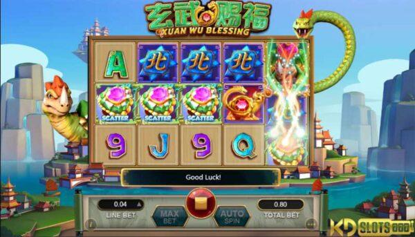 Xuan Wu Blessing – Slot game quay về thời tiền sử