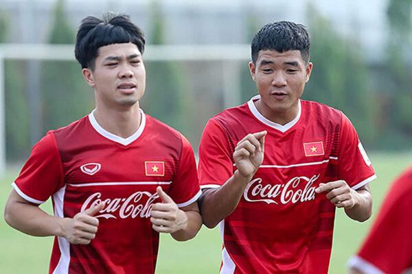 Công Phượng cùng HAGL chuẩn bị cho V-League 2021