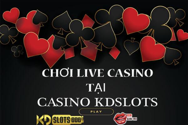 Giới thiệu đôi chút về live casino cho người chơi mới