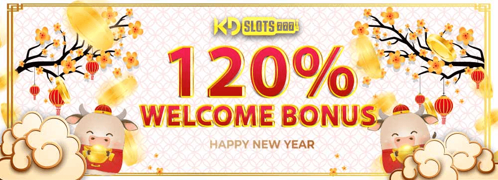Slot khuyến mãi chào mừng thành viên mới nhận ngay 120%
