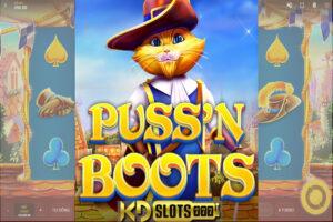 Pussn Boots game slot phiêu lưu cùng mèo đi hia!!!