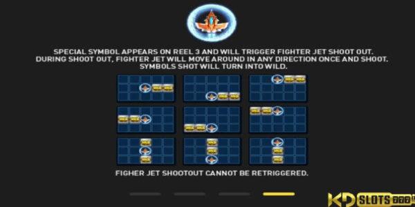 Sky Strikers slot game – chiến đấu trên không cùng KDSlot