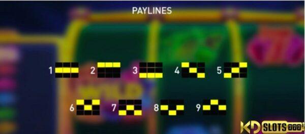 Cảm nắng với game slot Space Neon tại Casino KDSlots