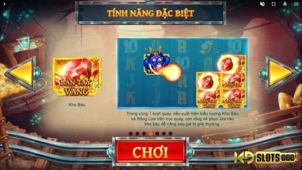 Treasure Mine game slot – cùng KDSlot khai thác kho báu!!!