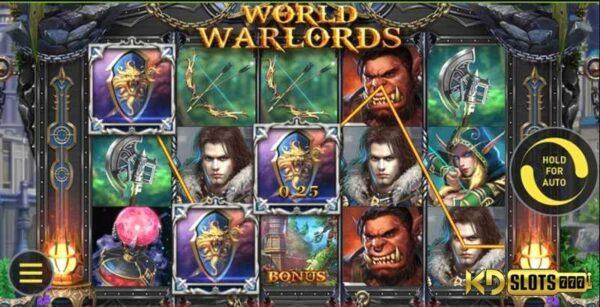 Trở thành lãnh chúa với game slot World of Warlords