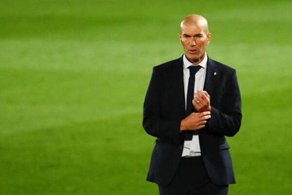Real lo sốt vó vì HLV Zidane liên quan tới ca nhiễm Covid-19