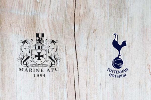 Jurgen Klopp xuất hiện trong trận Marine vs Tottenham