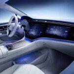 Thiết kế nội thất ngập tràn công nghệ của Mercedes EQS