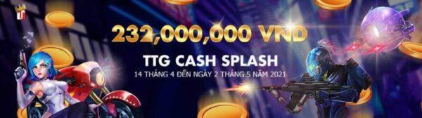 Giải đấu Cash Splash dành cho người chơi TTG