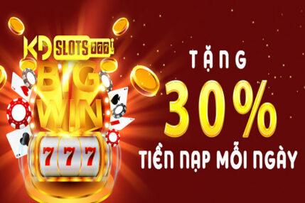 khuyến mãi bonus 30%