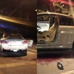 Hai người chạy BMW bị chém do tiếng pô nổ to