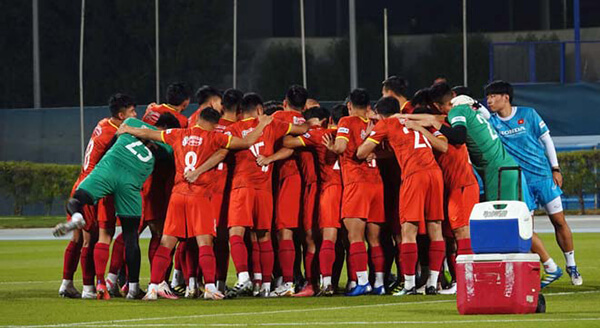 Tuyệt mật thông tin trận đấu giữa đội tuyển Việt Nam và Jordan ở Dubai