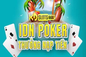 Khuyến mãi thưởng ngay 20% khi chơi IDN poker