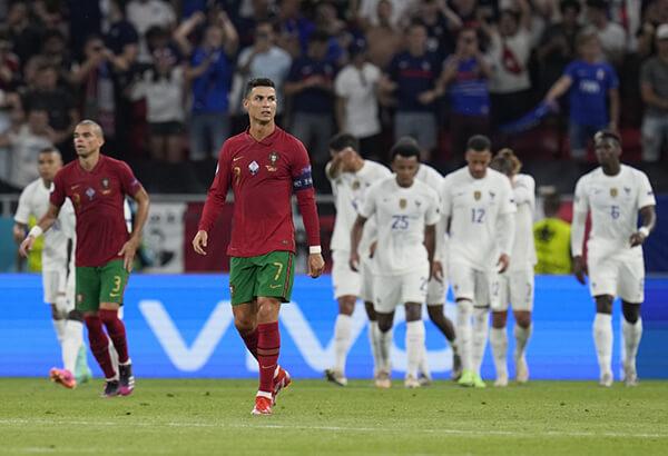 Hòa 2-2 trước Bồ Đào Nha, Pháp dẫn đầu bảng F tử thần - tin tức bóng đá