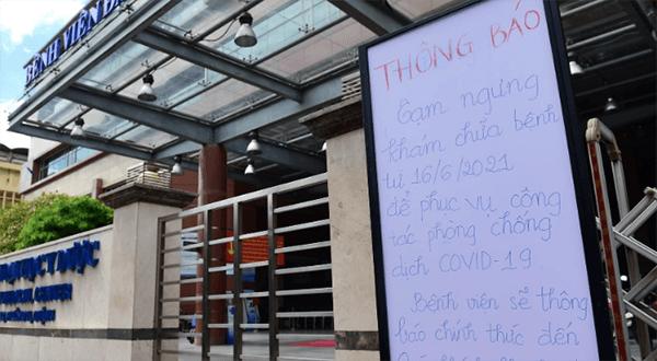 Bệnh viện đại học y dược tạm phong tỏa