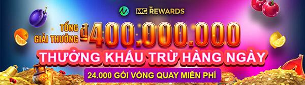 Hàng nghìn giải thưởng vòng quay miễn phí hằng ngày tại Microgaming